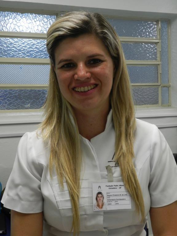 Regiani Elisabete de Lima Busnardo  - Enfermeira