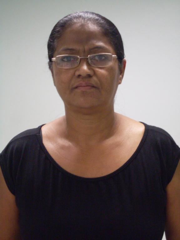 Celina Fernandes Silva - Auxiliar de Rouparia.